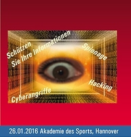 "Coverbild Programmflyer""Spionage - (k)ein Thema?!"""