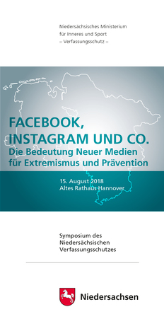 "Flyertitel ""Facebook, Instagram und Co."""